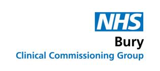 NHS Bury Logo