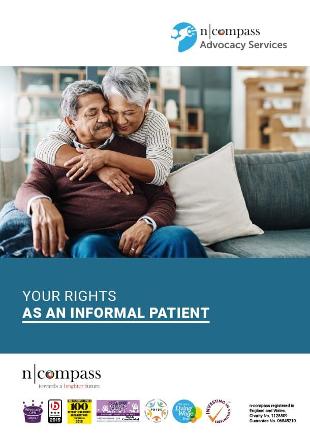 Your rights as an informal patient