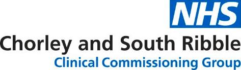 Chorley And South Ribble CCG Logo
