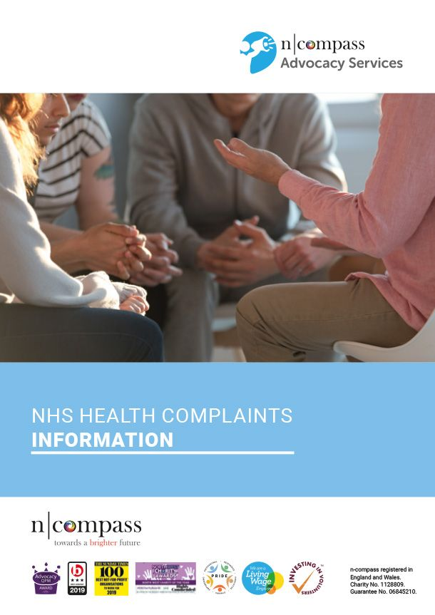 NHS health complaints information