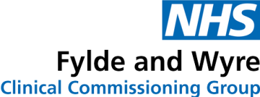 NHS Fylde and Wyre Logo