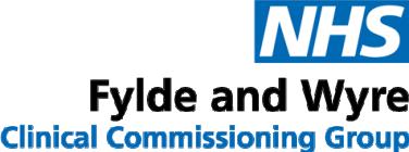 NHS Fylde and Wyre Logo