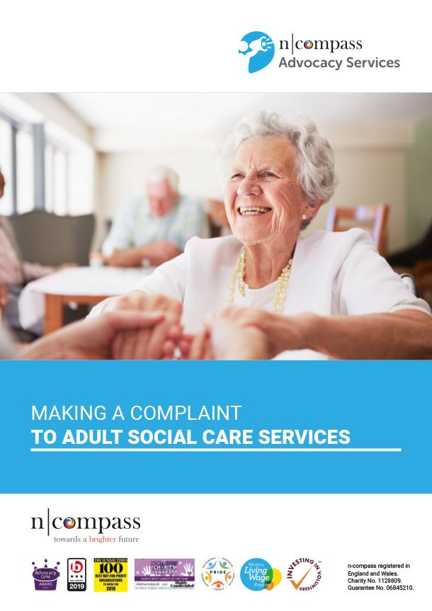 Making a complaint to adult social care