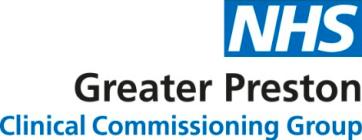 Greater Preston CCG Logo